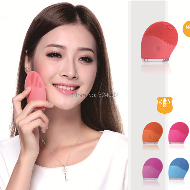 Skinray face care facial cleansing brush electric face vibration brush Spa Skin Care massage(China (Mainland))