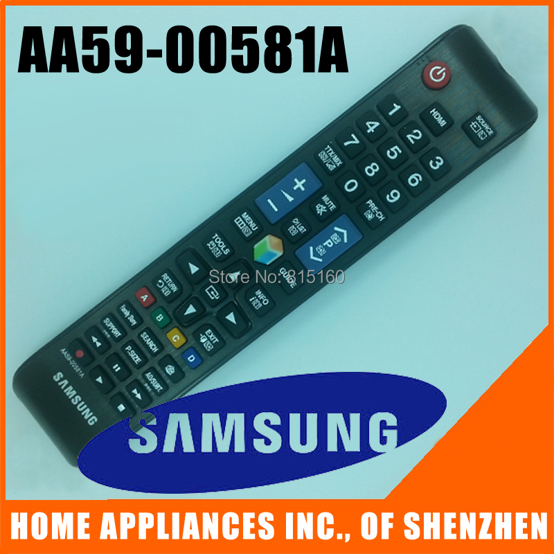 SAMSUNG TV Remote Control AA59-00581A For SAMSUNG TV Remote Control(China (Mainland))