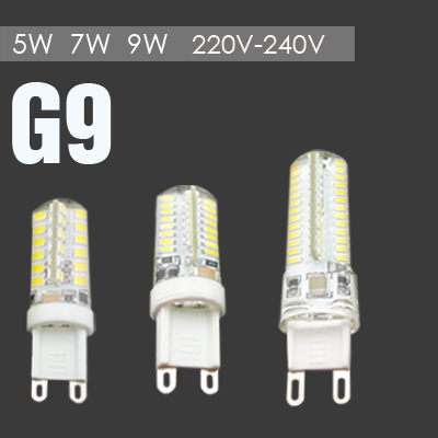 Cree Hot Sale AC220V G9 LED Bulb 9W 7W 5W G9 Bulb Cold Warm White G9 LED Light(China (Mainland))