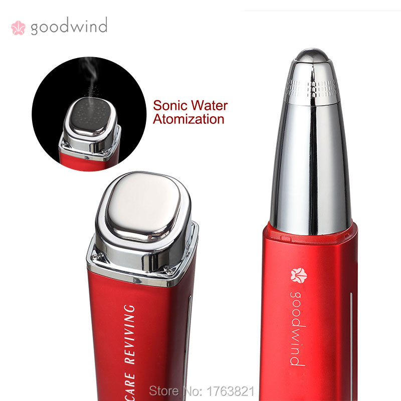 Direct Selling Anti-wrinkle To Kint With Eyes Cream Eye Massage Portable Galvanic Beauty Equipment Black Rim Of The Eye Bags(China (Mainland))