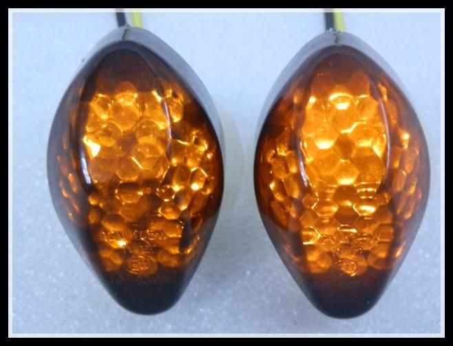 SMOKE FLUSH MOUNT LED TURN SIGNALS 2003-2012 Honda CBR 600 RR 600RR 04 05 06 - Motorcycle Parts Retail& Aftermarket store
