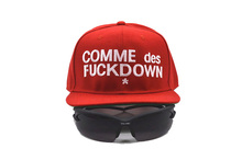 COMME DES FUCKDOW Snapback Hat Snap Back Football Hat For Men Baseball Cap, SSUR Hip Hop Hat Adjustable Women Basketball Hats(China (Mainland))