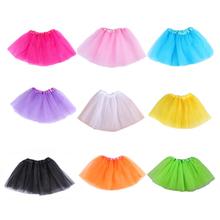 Wholesale Baby Girls Skirt Translucent 3-Layer Net Yarn Children Skirt Girl's Ball Gown Skirts Girls Tutu Skirt