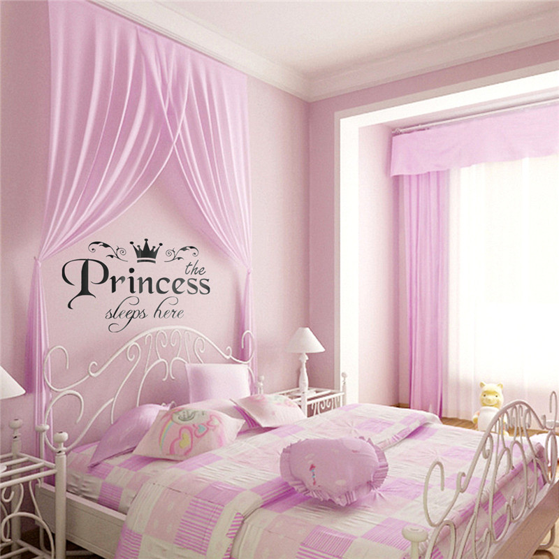 Online get cheap girls room wall stickers for Little princess room