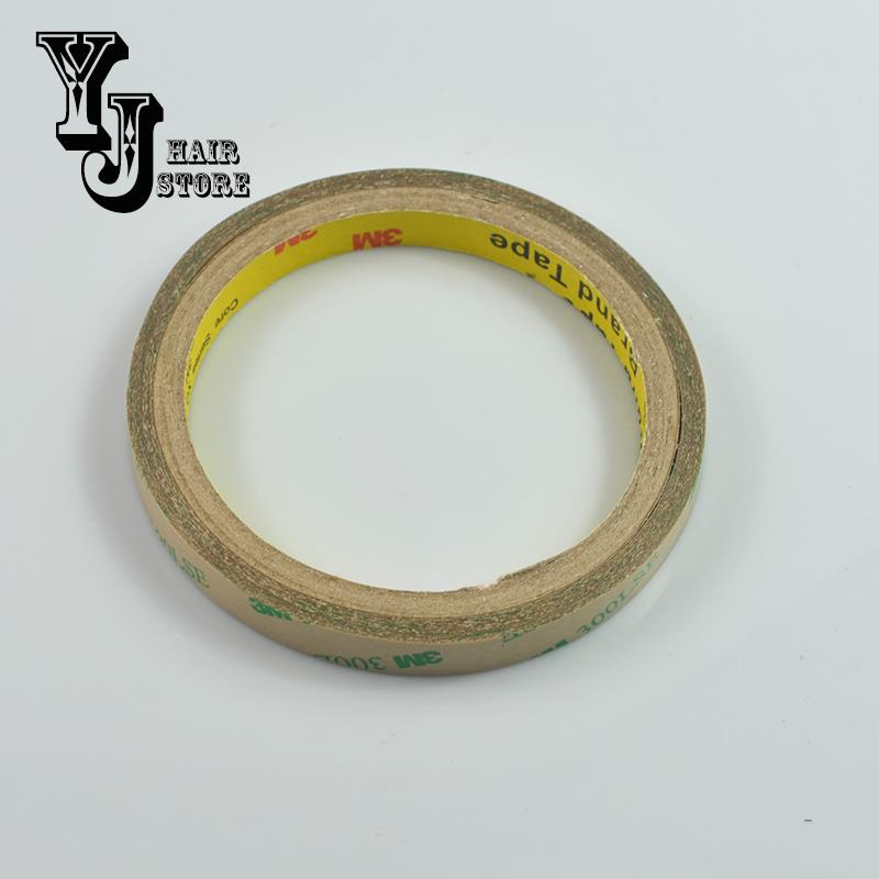 One Roll of Double-sided Adhesive Tape 1cm*5m for All Tape Hair PU Skin Tape Weft Hair Extensions Attaching Accessories<br><br>Aliexpress