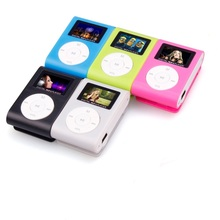 Beautiful Gift New Mini USB Clip MP3 Player LCD Screen Support 32GB Micro SD TF Card Free Shipping Mar1