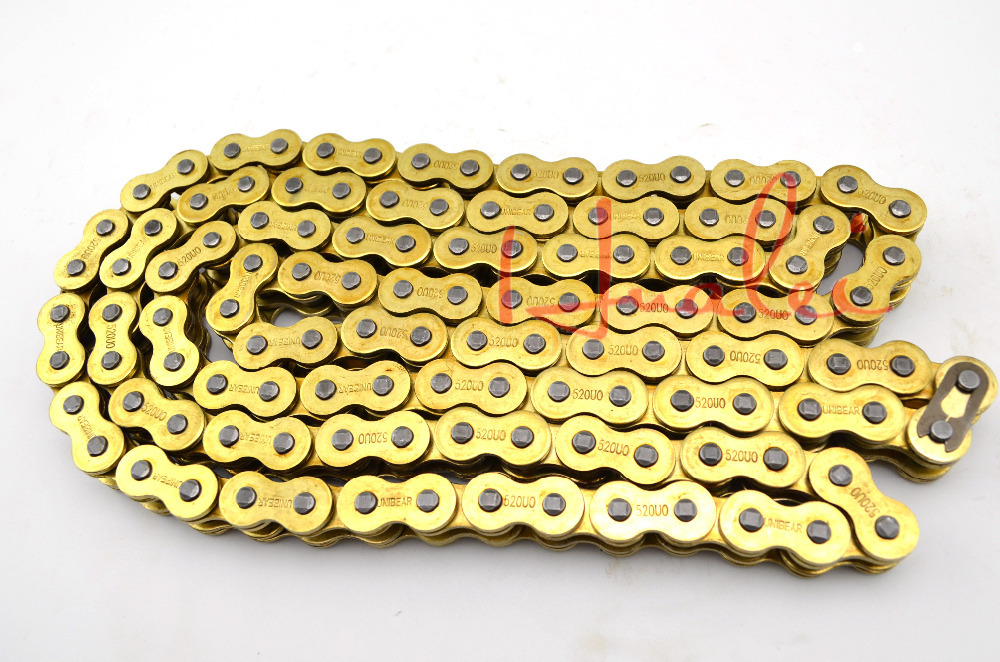 530*120 Brand New UNIBEAR Motorcycle Drive Chain 530 Gold O-Ring Chain 120 Links For YAMAHA FZ 750 FZ750 Drive Belts<br><br>Aliexpress