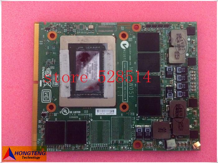 Здесь можно купить  original for msi GT60 GT70 GT780 GT660 Notebook graphics board ms-1w051 n13e-gs-lp-a1 GTX670M  100% Test ok original for msi GT60 GT70 GT780 GT660 Notebook graphics board ms-1w051 n13e-gs-lp-a1 GTX670M  100% Test ok Компьютер & сеть