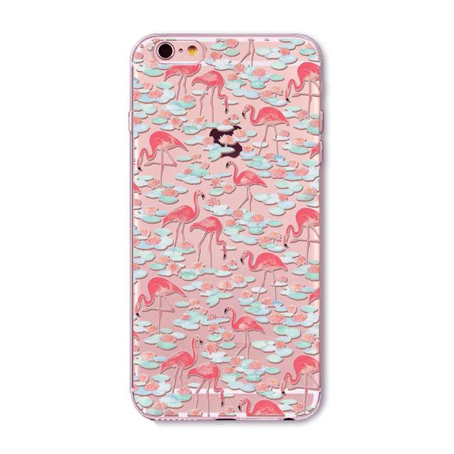 Etui iPhone 4/4S/5/5S/SE/5C/6/6S/6Plus/6SPlus Flamingoland różne wzory
