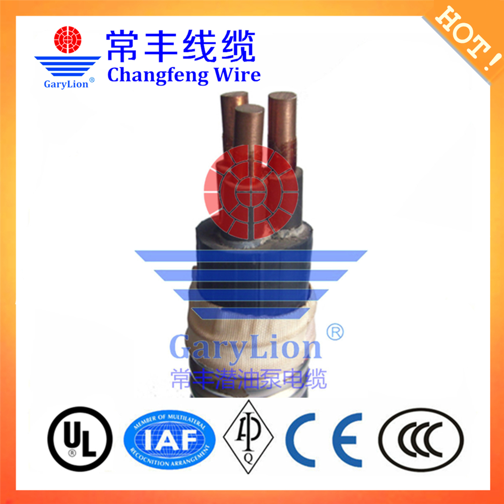 GaryLion AWG4, 5KV Electric Submersible Pump (ESP) Round Power Cable(China (Mainland))