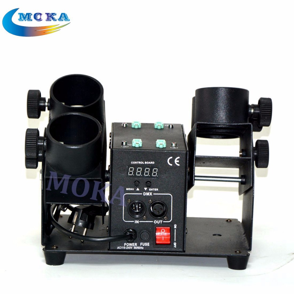 Magic FX Power Shot Professional Machine Confetti Cannon Four Heads Electric Paper Launcher Effect Equipment 6PCS/lot<br><br>Aliexpress