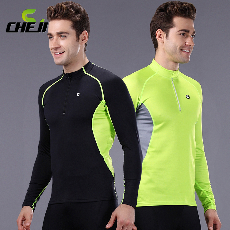 CHEJI 2015 New Men's Cycling Clothes Hiking Underwears Bike Outdoor Thermal Fleece Underwear Sports Camping Winter CC9027