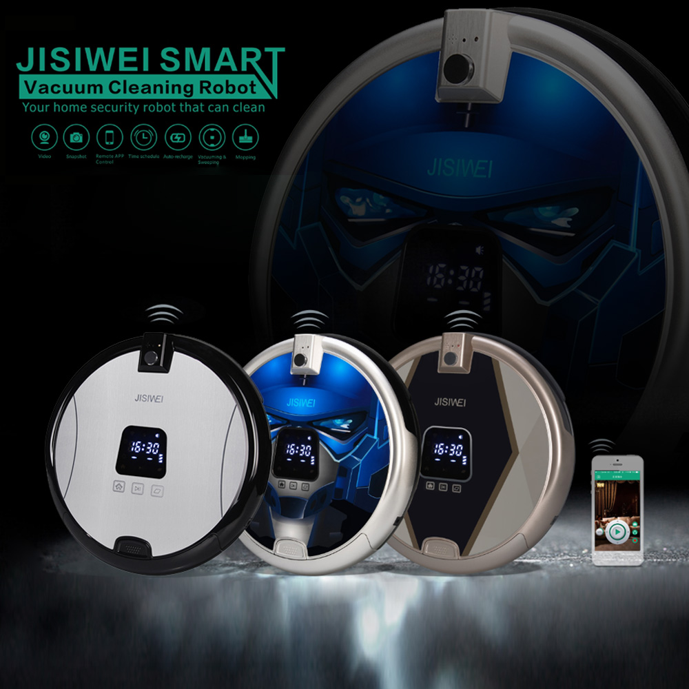 JISIWEI S Plus Robot Vacuum Cleaner Robotic Smart Floor Robot Cleaner Remote Control Wireless For Home(China (Mainland))