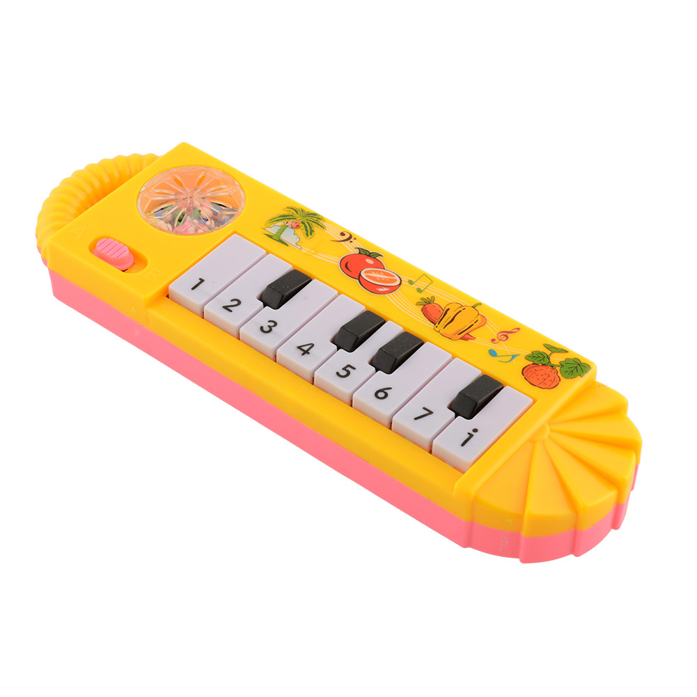 Cute Baby Infant Toddler Kids plastic Musical Piano Developmental Game Toy Early Educational Toys Game(China (Mainland))