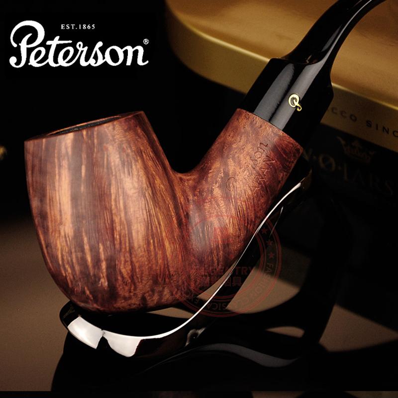 High quality Briar Smoking Pipe 10 In 1 Pedersen peterson for ar an briar log series smoking pipe smoke pipe tobacco(China (Mainland))