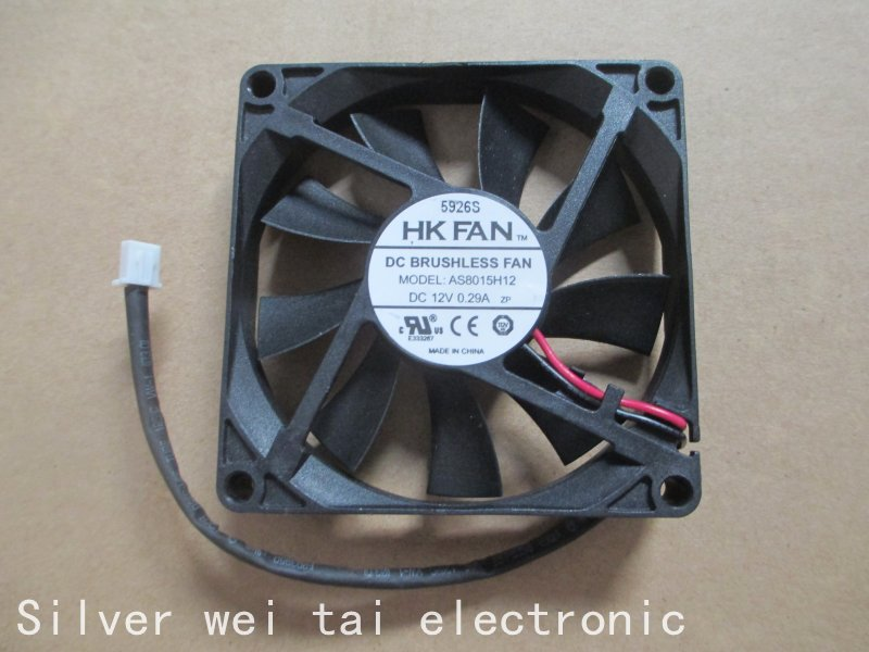 Laptop CPU Cooling Fan For AS8015H12 8015 80x80x15mm 12v 0.29a cooling fan<br><br>Aliexpress
