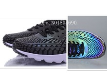 Free shipping 2015 New men 90 Ultra Moire QS 3D reflective chameleon MD bottom shoes Max shoes running shoes
