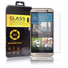 Sundatom M9 Screen Protector Explosion-Proof Anti Shatter Tempered Glass Film For HTC one M8 M9 M9+ plus HTC Desire 820 816 826(China (Mainland))