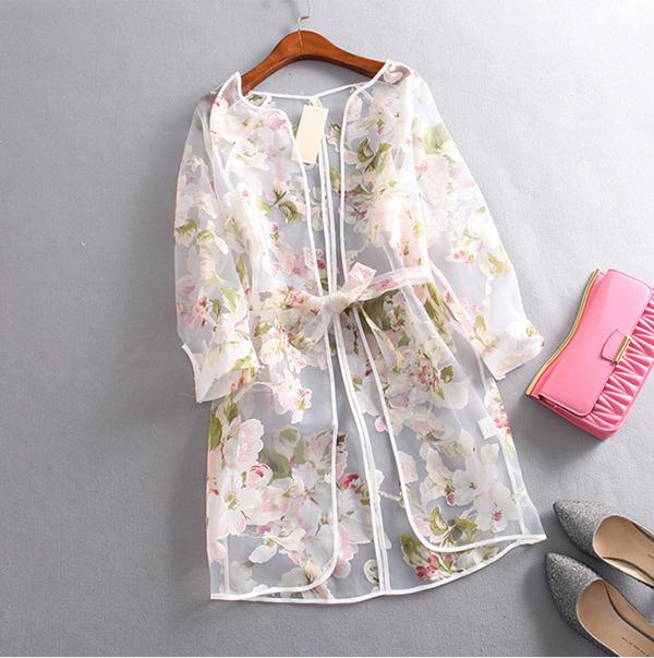 Блузка Из Органзы