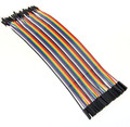5PCSFemale male Dupont line 40pcs 20cm jumper wire Dupont cable For arduino