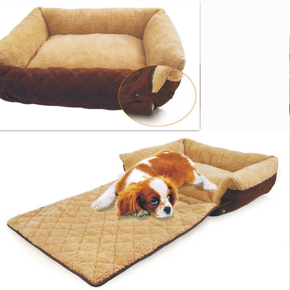 Small medium big dog sofa bed house kennel washable winter Dog house sofa