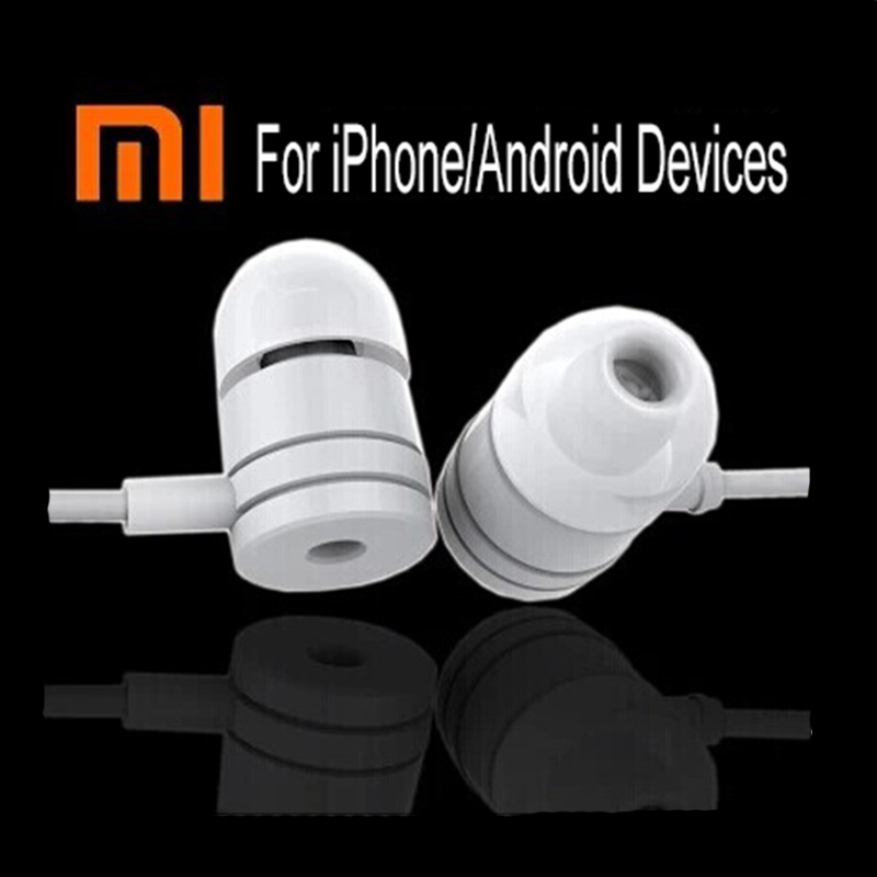 Wired Mobile Phone Headphones With Microphone Original Noise Cancelling In-Ear Earphone Wirecontrol Stereo Xiaomi Piston Headset