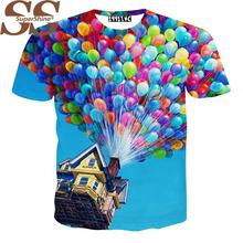 2015 Kawaii 3D Printing T Shirt Women Tops Emoji Men T-Shirt Tee Tshirts Vetement Femme Blusas Femininas 2015 Caveira