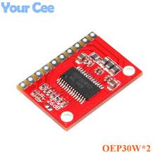 Buy OEP30W*2 Double Channel Digital Amplifier Board Module Diy Amplifier Kit 30Wx2 D Class Dual Channel Power OEP30WX2 PWM for $1.88 in AliExpress store