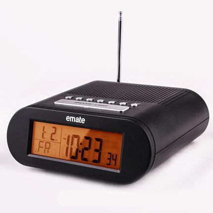 Led Fm Radio Digital Brand Alarm Clock Backlight Snooze