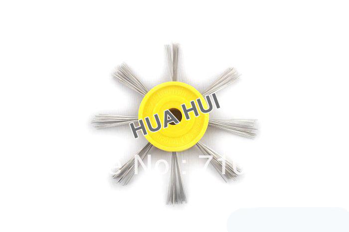 Drop shipping jewellery tools Yellow Color Semi Coarse Matt Brush Polishing Supplies Wholesale & Retail(China (Mainland))