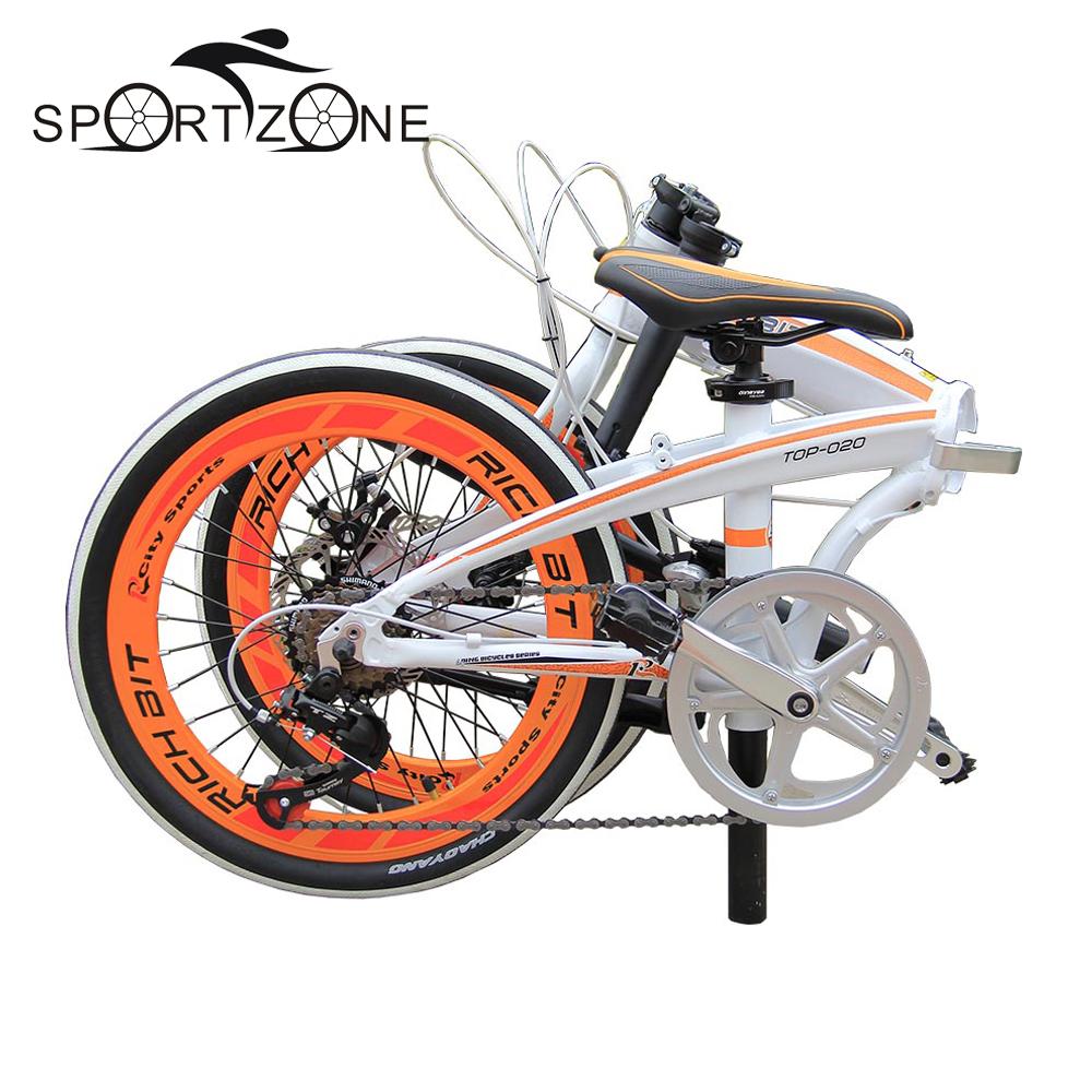 "20"" Folding Bike Road Bicycles Mechanical Brakes 7 Speed SHIMAN0 Gear Suspension Aluminum Frame 20 Inch Bike MTB Mountain(China (Mainland))"