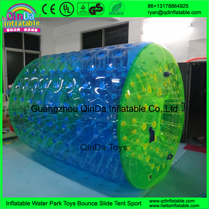 Children Pool Toys Inflatable Water Roller Wheel/Aqua Inflatable Water Walking Roller For Sale(China (Mainland))
