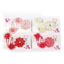 Girl Hair Accessories Set clip for hair Flower Barrettes Hairpins