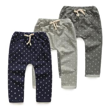 2016 Mid Harem Girls Bobo Choses Children Clothing Kids Hot Sell Boys Baby Child Long Trousers Casual Pants