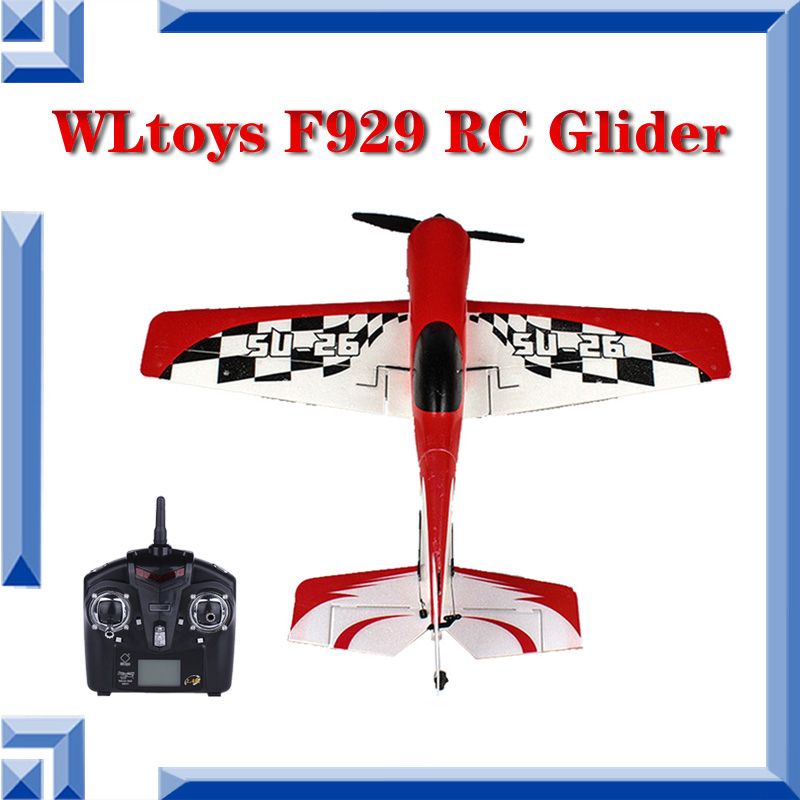 Free Shipping NEW Electronic Toys RC Airplane 2.4G Remote Control Toys 4CH RC Plane Model Airplane RTF Outdoor Toy Wltoys F929(China (Mainland))
