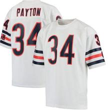 Men's William Walter Payton Dick Butkus Gale Sayers Gale Sayers Jim McMahon Mike Singletary Perry Throwback elite jersey(China (Mainland))