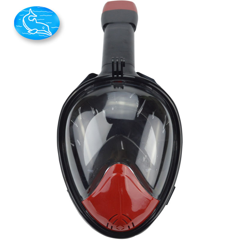 Hot saling Upgrade Scuba set Full Face Easy Breath Snorkeing Swimming Diving mask with Gopro Amount on Quality DivingMasks(China (Mainland))