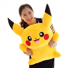1pcs 30cm Pikachu Plush Toys High Quality Very Cute Stuffed Animal Dolls Children Toys Movie Tv kids Christmas Gift(China (Mainland))