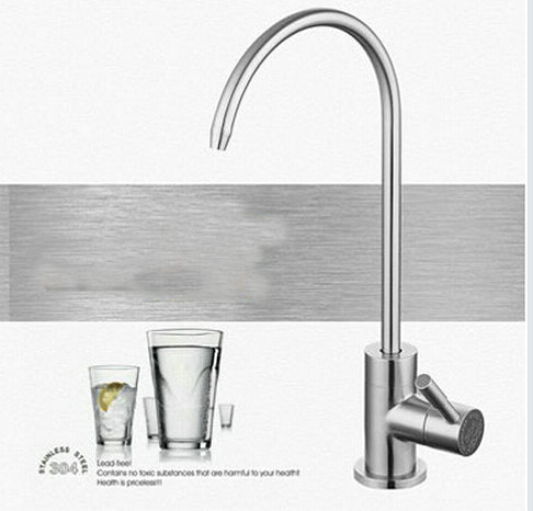 Lead Free Drinking Water Filter System Tap SUS304 Stainless Steel Kitchen Dri
