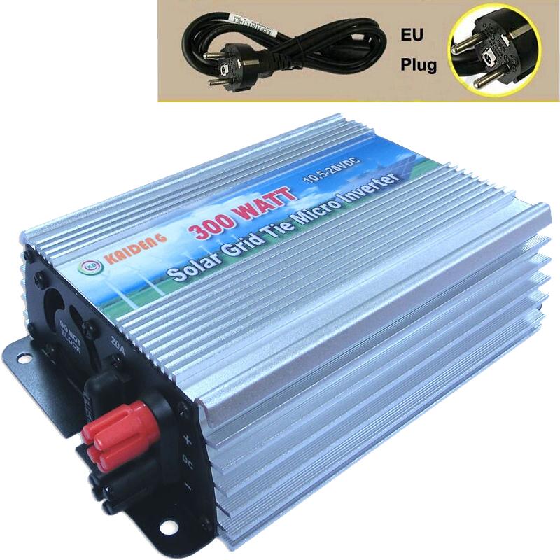 300W Inverter Grid Tie Inverter Solar Power Inverter 300 Watt 220V/230V/240V Pure Sine Wave Inverter CE RoHS EU Plug(China (Mainland))