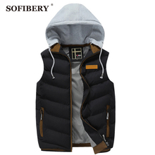 SOFIBERY Vest Coats & Jackets Men's Down Coats Fall and Winter leisure fashion Slim jacket men sleeveless vest(China (Mainland))