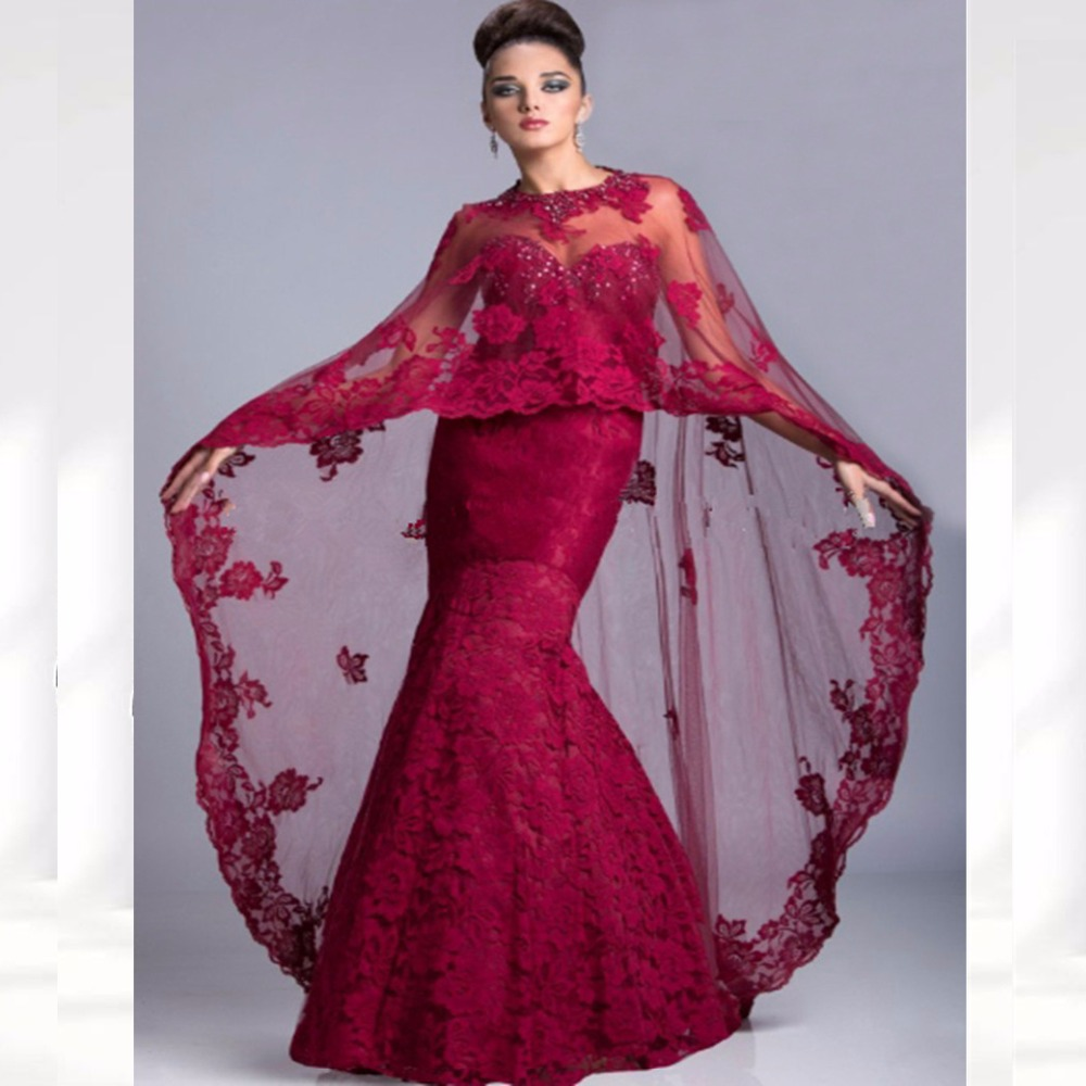 Saudi Arabia Vestidos Long Mother of the Bride Dresses Shawl Cape Floor Length Elegant Formal Evening Gown PROM Dresss(China (Mainland))