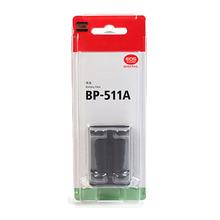 BP-511A Batteries BP 511A BP511A 511 Digital Lithium Camera Battery Pack For Canon EOS 300D 10D 20D 30D 40D 50D D30 D60 5D G6