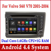 Android 4.4 Car DVD Player GPS Navigation for Volvo S60 V70 2001-2004 w/ Radio BT TV USB SD AUX CD MP3 3G WIFI 1.6G CPU+1G RAM