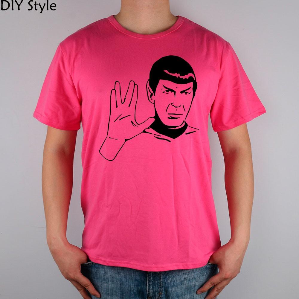 LIVE LONG AND PROSPER SPOCK STAR TREK men short sleeve T-shirt new arrival Fashion Brand t shirt for men  HTB1CSRhMpXXXXcXaXXXq6xXFXXXB