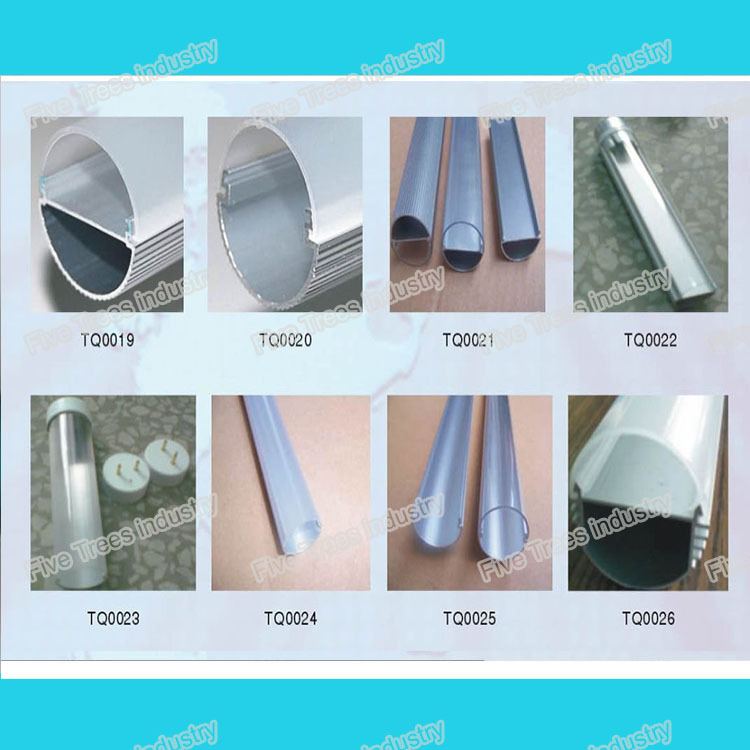 PC extrusion, polycarbonate tube (for LED Lights),PC profile,PC diffuser,polycarbonate tubing(China (Mainland))