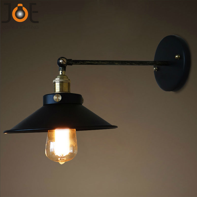 Wall Mount Office Lamp : Aliexpress.com : Buy Vintage wall lamp Sconces lights for bathroom kitchen wall mount lamp E27 ...