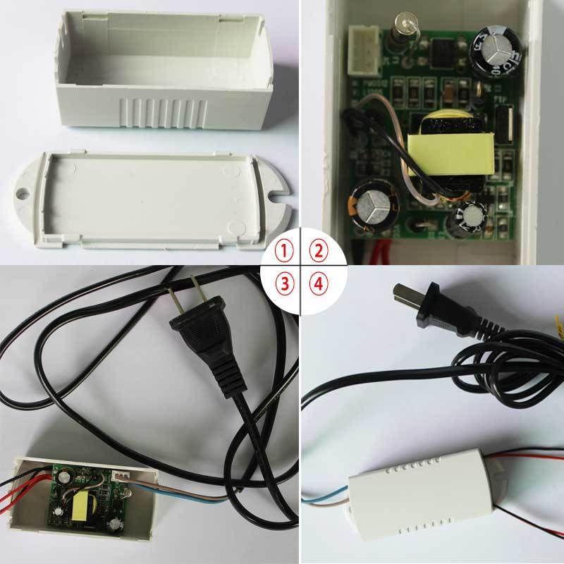 Power Supply 60V 240V AC To 12V DC Converter adapter for LED lighting 500MA 6W