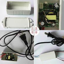 Блок питания 60 В ~ 240 В переменного тока в 12 В DC конвертер переходник для из светодиодов освещение ма 6 Вт