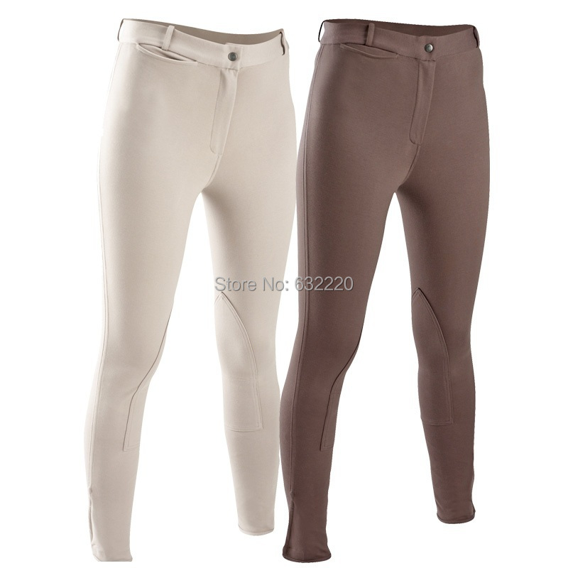Stretch Fabrics Horse Riding Women Schooling Jodhpurs Pants Professional Chaps compound Material accessories(China (Mainland))